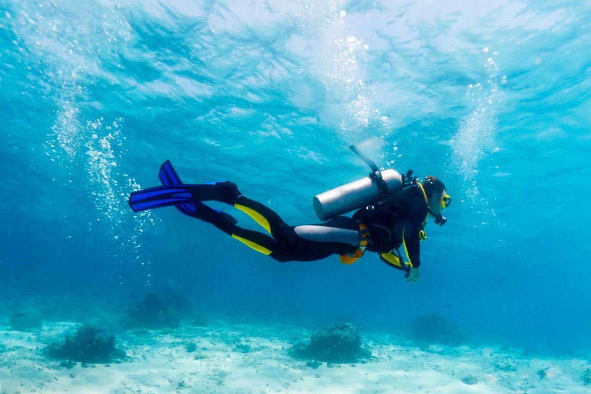 Scuba diving camp in Mombasa, Kenya